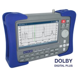 METEK-HDD / Medidor de campo profesional DVB-T/T2, DVB-S/S2 Dolby Digial+