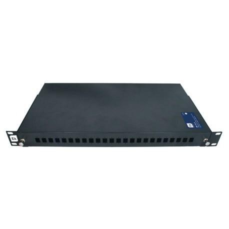 """BFO24S / Bandeja telescópica FO 24 puertos para rack 19"""" (Ref. 361011)"""