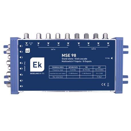 MSE-98 / Multiconmutador 9 Entradas 8 Salidas