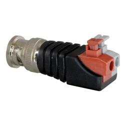 CON290 / Conector BNC macho de fácil conexionado