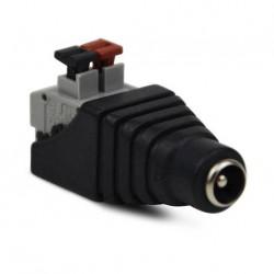 CON-916 / Conector DC macho de fácil conexionado