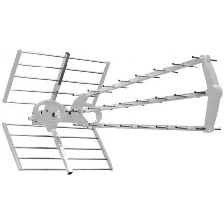 EK100-L2 / Antena exterior UHF triple eje 17dB LTE2 - 5G