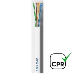 LAN-540 ZH / Cable UTP Categoría 5e LSZH blanco Cu (300m)