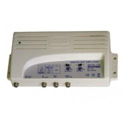 RDS602-L2 / Amplificador de FI 2 entradas con mezcla (TER) - 40dB (SAT) LTE2 (5G)