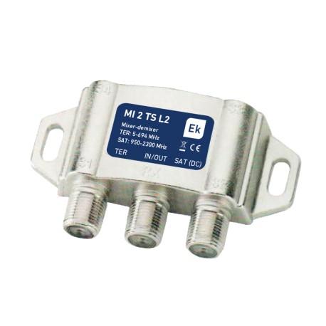 MI2TS-L2 / Mezclador / Desmezclador TV-SAT LTE2 (5G)