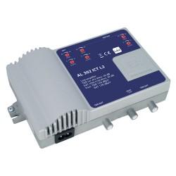 AL302ICT-L2 / Amplificador de línea 2 IN - 2 OUT 35dB (TER) - 40dB (SAT)