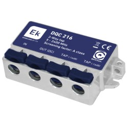 DQC-216 / Derivador 2 Líneas (5 …2400MHz) -16dB QuiCoax
