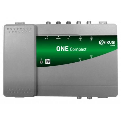 ONE-COMPACT / Central de amplificación programable 5 entradas 32 filtros