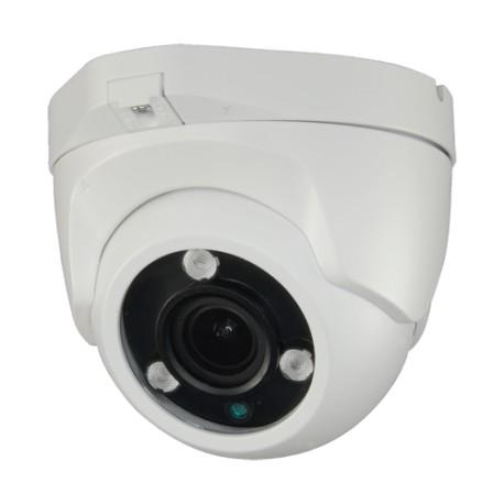 957VQ4N1 / Cámara Domo 4 en 1 Int/Ext HD 4Mpx Lente 2,7~13,5mm IR 40m