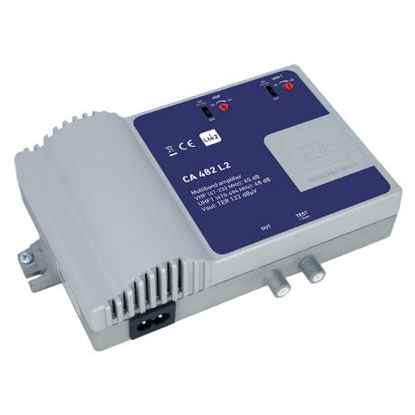 CA482-L2 / Central amplificadora alta potencia (VHF/UHF) 40/48dB LTE2 (5G)