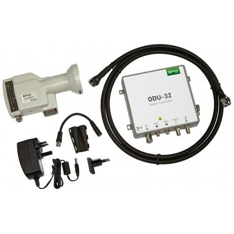 ODU-32KIT / Kit LNB + emisor óptico + fuente alimentación