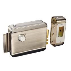 ABK702AL / Cerradura electromecánica de seguridad superficie 12Vdc Apertura a izquierdas