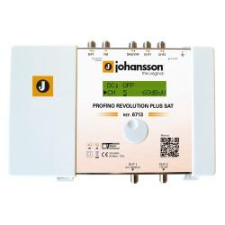 PROFINO REVOLUTION SAT (6713) / Cabecera Programable 5 entradas 70dB (UHF) - 40dB (SAT) - 15 filtros