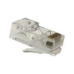 FE-HQ62-50 / Conector RJ45 macho 50µ para cable UTP Cat. 6