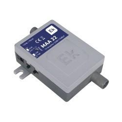 MAA22 / Amplificador de vivienda 1 IN - 1 OUT 22dB con retorno formato Micro