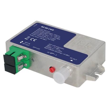 RO88CWD / Receptor óptico activo 1550nm + multiplexor 1490nm y 1310nm