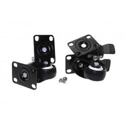 FR-CAS / Kit de ruedas para rack (2 con freno)