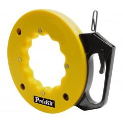 HRV-2032 / Guía pasacables acero flexible con mango 15m