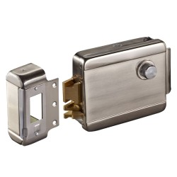 ABK702AR / Cerradura electromecánica de seguridad superficie 12Vdc Apertura a derechas