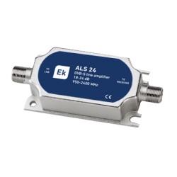 ALS24 / Amplificador de línea Satélite IN-OUT 25dB