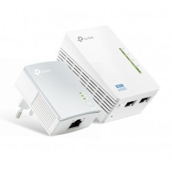 TL-WPA4220KIT / Kit PLC Powerline WiFi AV600 600Mbps / 300Mbps (WiFi)