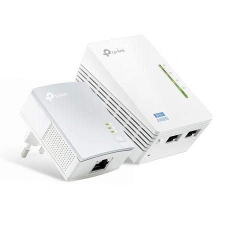 TL-WPA4220KIT / Kit PLC Powerline WiFi AV600 600Mbps / 300Mbps (WiFi)