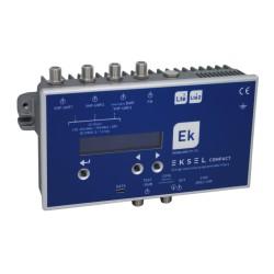 EKSEL-COMPACT/5 - Central programable digital con filtros ultraselectivos 4 entradas >70dB (Pack de 5 uds)