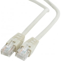 LU5P-15 / Latiguillo Categoría 5E UTP PVC gris 15m