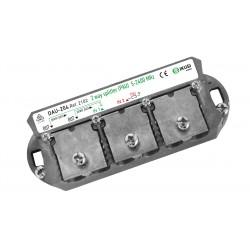 DAU-204 / Distribuidor + PAU tipo brida Ikusi (5..2400MHz) 2 salidas