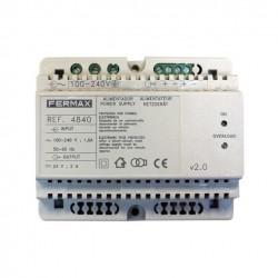4840 / Alimentador Fermax DIN-6 24Vdc / 2A