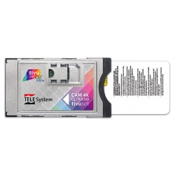CAM TIVUSAT 4K / Modulo PCMCIA con Tarjeta TIVUSAT 4K