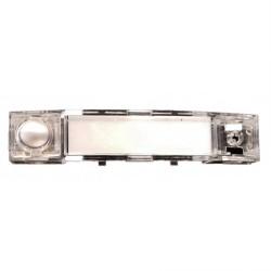 509831 / Pulsador Simple COMPACT Plata Auta