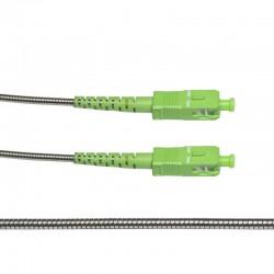 LSA-2,5MET / Latiguillo FO SC/APC 1 fibra blindado (2,5m)