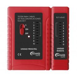 TES010 / Tester de Cableado RJ
