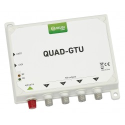 QUAD-GTU / Conversor Óptico Quad + Terrestre