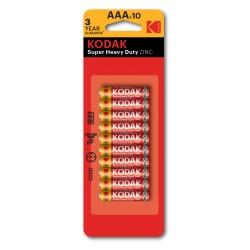 PILA AAA / Blister 10 pilas salinas LR03 (AAA)