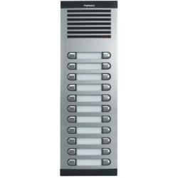 8740 / Placa de portero CITY CLASSIC S8 AP211 4+N 22 pulsadores