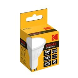 GU10-WARM-5 / Dicroica led GU10 400lm 5W (50W) 3000k cálido Kodak
