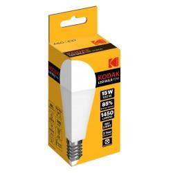 A60/E27-DAY-15 / Bombilla led estandard E27 1450lm 15W 6000k día Kodak