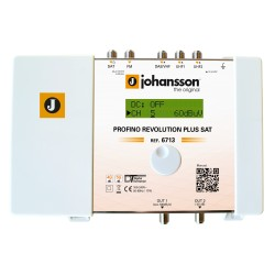 PROFINO REVOLUTION SAT (6713) / Cabecera Programable 5 entradas 70dB (UHF) - 40dB (SAT) - 15 filtros (Pack de 5 unidades)