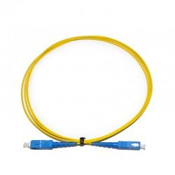 TF-LSU13-Y01 / Latiguillo FO SC/UPC 1 fibra monomodo (1m) Keynet