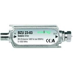BZU-23-03 / Ecualizador lineal fijo CATV 5-1000MHz (3dB) Axing