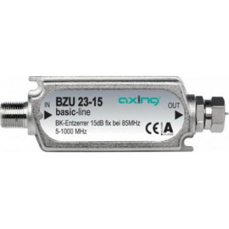 BZU-23-15 / Ecualizador lineal fijo CATV 5-1000MHz (15dB) Axing