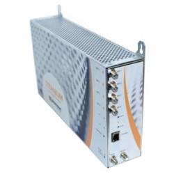 TITANIUM-4/ Transmodulador Quad con doble C.I. 4 entradas - 4 sintonizadores