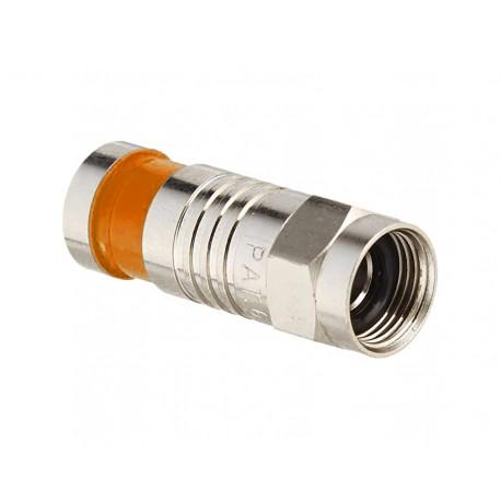 COMP-01 / Conector de compresión tipo F 6,8mm