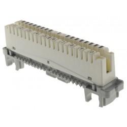 FB-10PL-B / Regleta telefónica corte y pruebas 10 pares Keynet
