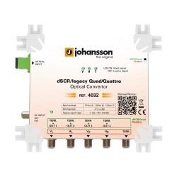 4032 / Conversor Óptico Quattro-Quad Johansson