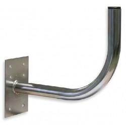 SP30E / Soporte a pared 30mm para antenas 60cm placa rectangular