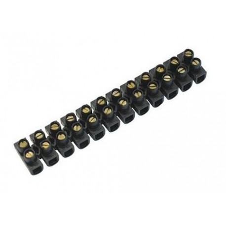 RCC-10 - Regleta de clemas 12 conexiones a tornillo 10mm² Tolsen