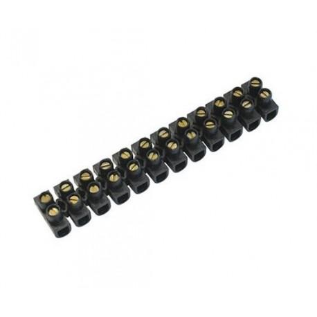 RCC-6 - Regleta de clemas 12 conexiones a tornillo 6mm² Tolsen